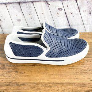 Crocs Citilane Blue & White Slip-On Shoe Size 7